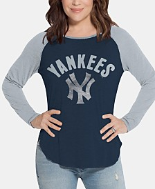 Touch by Alyssa Milano Women's New York Yankees Long Sleeve Touch T-Shirt