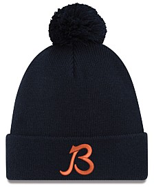 New Era Chicago Bears Chase Pom Knit Hat