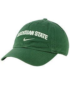Michigan State Spartans H86 Wordmark Swoosh Cap