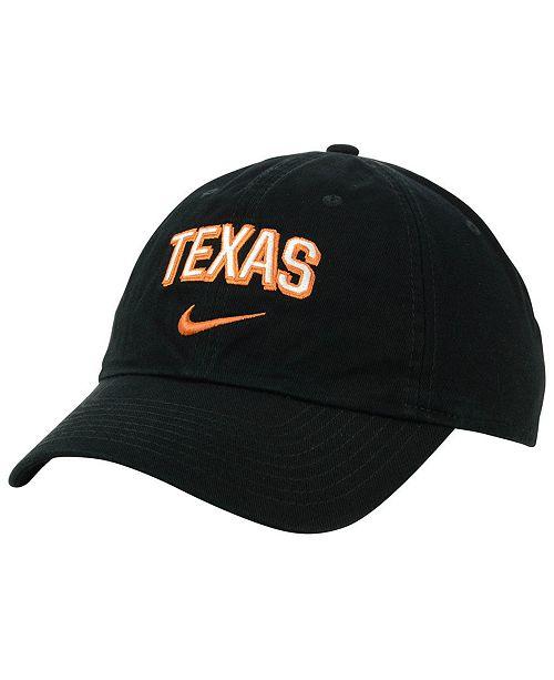 Nike Texas Longhorns H86 Wordmark Swoosh Cap