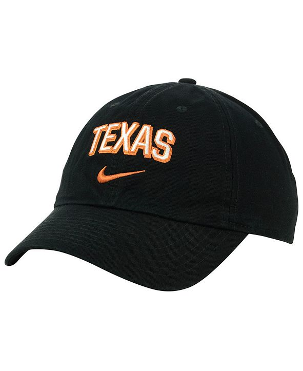 Nike Texas Longhorns H86 Wordmark Swoosh Cap
