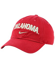 Nike Oklahoma Sooners H86 Wordmark Swoosh Cap