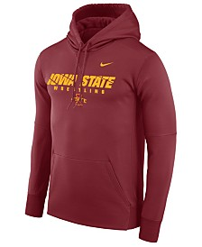 Nike Men's Iowa State Cyclones Legend Sport Hit Hooded Sweatshirt