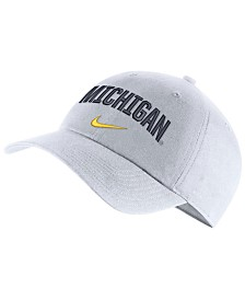 Nike Michigan Wolverines H86 Wordmark Swoosh Cap