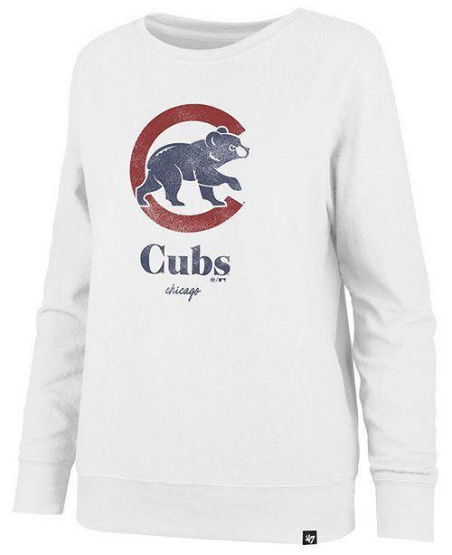 '47 Brand Women's Chicago Cubs Throwback Fleece