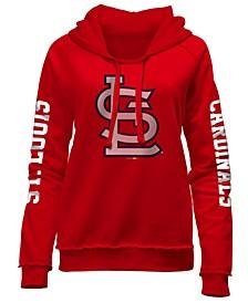 Women's St. Louis Cardinals Fleece Hoodie Pullover