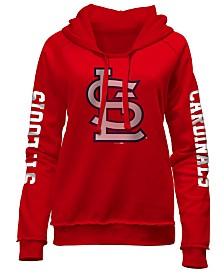 5th & Ocean Women's St. Louis Cardinals Fleece Hoodie Pullover