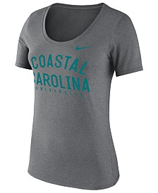 Nike Women's Coastal Carolina Chanticleers Core Cotton Scoop T-Shirt