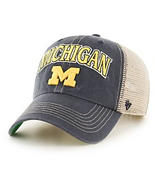 '47 Brand Michigan Wolverines Tuscaloosa Mesh CLEAN UP Cap
