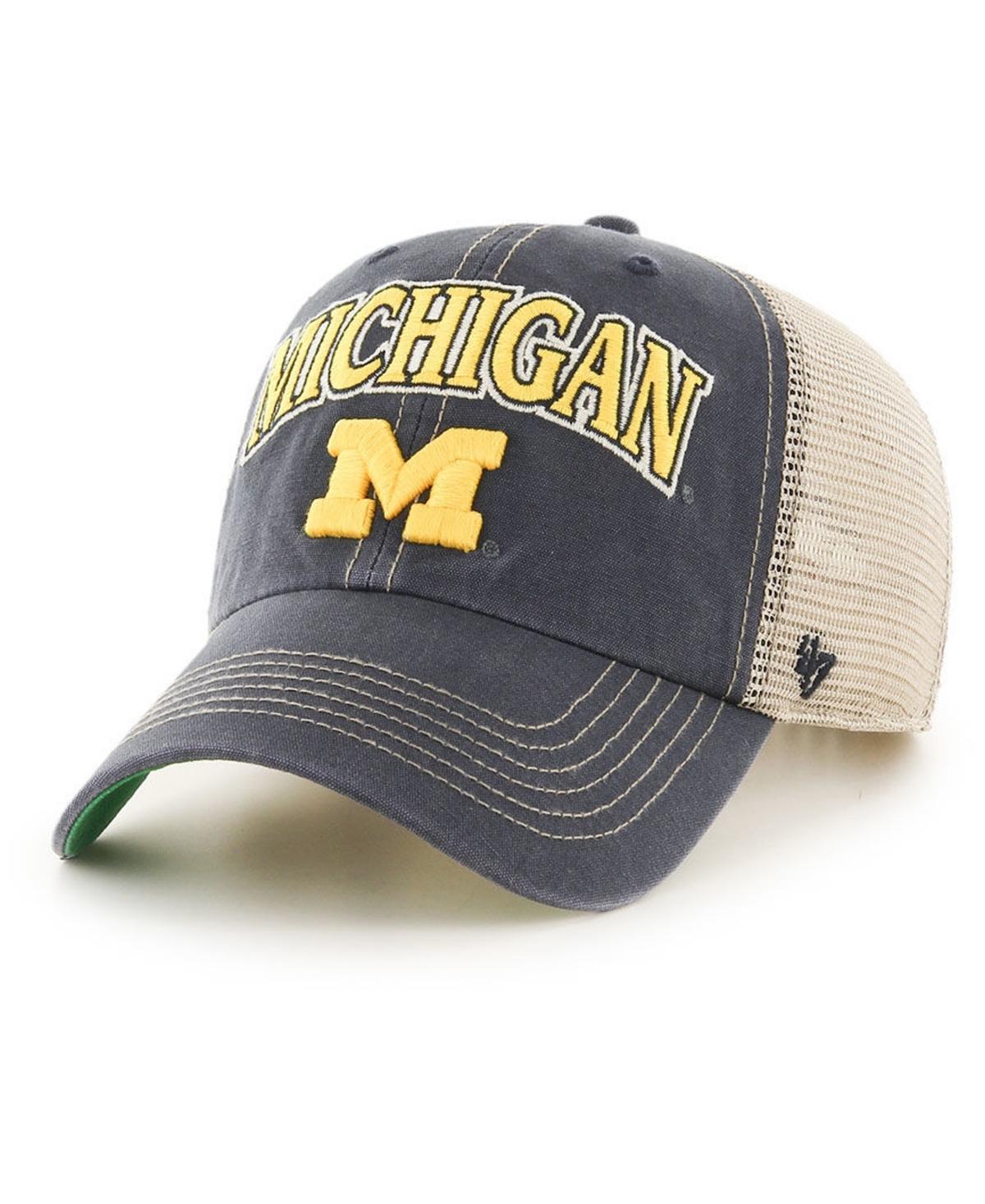 47 Brand Michigan Wolverines Tuscaloosa Mesh Clean Up Cap
