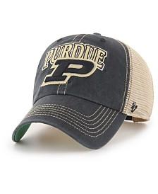 '47 Brand Purdue Boilermakers Tuscaloosa Mesh CLEAN UP Cap