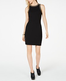 MICHAEL Michael Kors Embellished Apron Dress