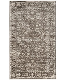 Safavieh Vintage Brown and Ivory 3' x 5' Area Rug