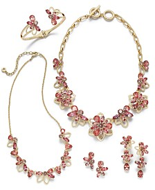Anne Klein Floral Crystal Collection