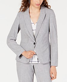 BCX Juniors' One-Button Blazer