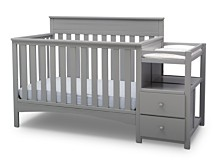 Children Presley Convertible Crib and Changer, Quick Ship