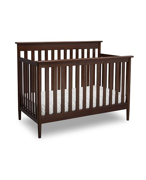 Delta Children Grayson Signature 4-In-1 Convertible Crib, Quick Ship