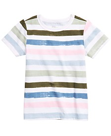 Epic Threads Little Boys Striped T-Shirt, Created for Macy's