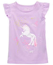 Epic Threads Little Girls Unicorn T-Shirt, Created for Macy's