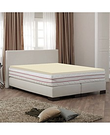 "High Density 1"" Foam Mattress Topper - Twin"