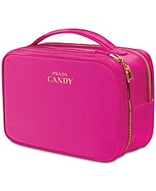 Receive a Complimentary Vanity Case with any large spray purchase from the Prada Candy fragrance collection