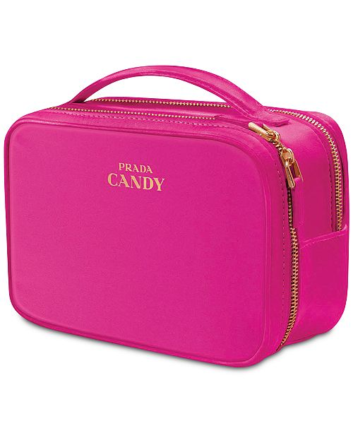 d6de6bda7a40 Prada Receive a Complimentary Vanity Case with any large spray purchase  from the Prada Candy fragrance