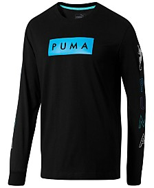 Puma Men's Long-Sleeve Graphic T-Shirt