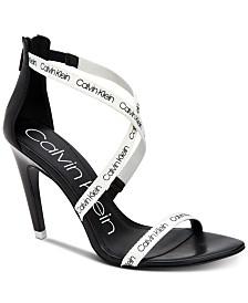 Calvin Klein Women's Gennovah Dress Sandals