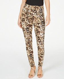 Thalia Sodi Animal Print Pull-On Leggings, Created for Macy's