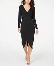 Thalia Sodi Crossover Dress, Created for Macy's