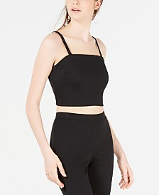 Material Girl Juniors' Crop Top, Created for Macy's