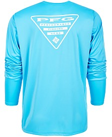 Columbia Men's PFG Terminal Tackle Triangle Long Sleeve Shirt