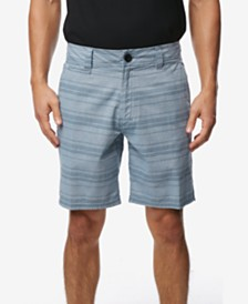 O'Neill Men's Bateman Stripe Chambray Shorts