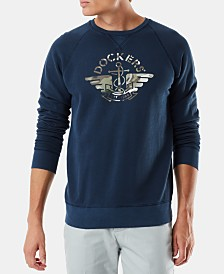 Dockers Men's Alpha Standard-Fit Logo Sweatshirt