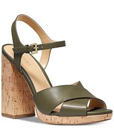MICHAEL Michael Kors Alexia Platform Sandals