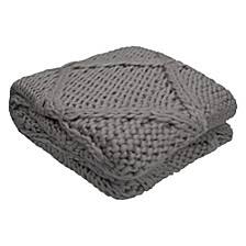 "Claire 50"" x 60"" Decorative Throw Blankets"