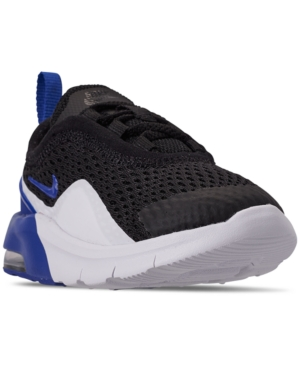 the latest 0032a a9357 Nike Toddler Boys  Air Max Motion 2 Casual Sneakers from Finish Line - BLACK GAME  ROYAL-WHITE