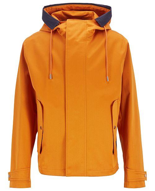 Hugo Boss BOSS Men's Water-Repellent Cotton Jacket