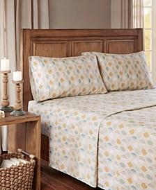 True North Cotton Flannel 4-Piece Full Sheet Set