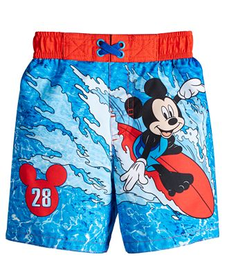 Dreamwave Toddler Boys Mickey Mouse Swim Trunks