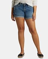 e6d1a2bb Silver Jeans Co. Sam Boyfriend Denim Shorts