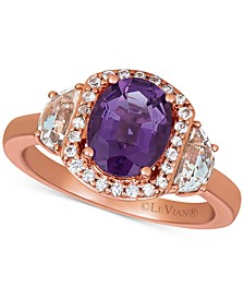 Multi-Gemstone (2-3/8 ct. t.w.) Statement Ring in 14k Rose Gold