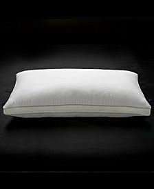 Soft Plush Luxurious Cotton Mesh Gusseted Gel Fiber Stomach Sleeper Pillow