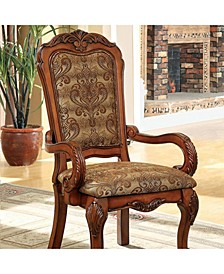Traditional Arm Chair Seat, Set of 2