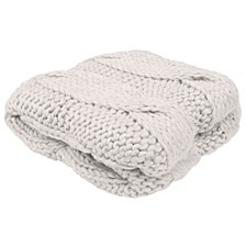 "Ella 50"" x 60"" Decorative Throw Blankets"