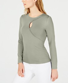 Vince Camuto Keyhole Top