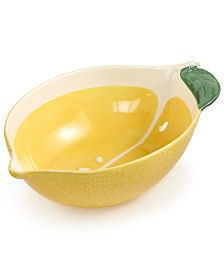 Martha Stewart Collection Figural Serving Bowl, Created for Macy's