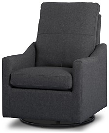 Kenwood Nursery Glider Swivel Rocker Chair, Quick Ship
