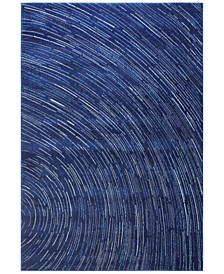 "Medley 5468 Dark Blue 8'6"" x 11'6"" Area Rug"