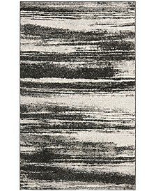 "Safavieh Retro Dark Gray and Light Gray 8'9"" x 12' Area Rug"